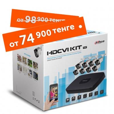 Комплект из 8 камер Dahua HD