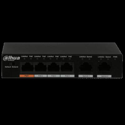 Dahua PFS3006-4ET-60 4-портовый PoE-коммутатор