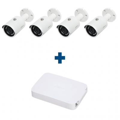 Комплект IP 4 уличные камеры Dahua IPC-HFW1020SP-S3